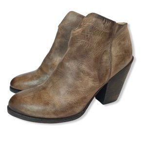 Freebird Ankle Boots Detroit Distressed Leather